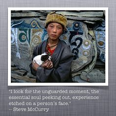 Quote photo of the day - Steve McCurry