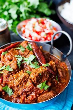 Healthier Spicy Beef Curry