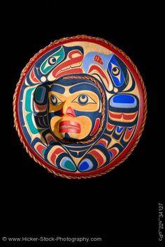 Eagle Sea Lion Mask Trevor Hunt Kwagiulth First Nations Artist British Columbia Canada