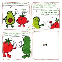~ AcT ~ 6 #aguacatecontomate #aguacate #tomate #comic #humor