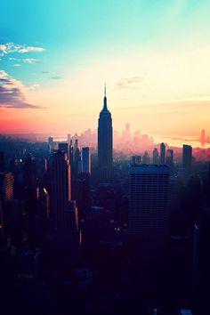 city meets sky