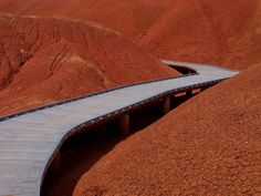 The Way to Go by Björn Kleemann on 500px (footpath through the painted hills of the John Day Fossil Monument, Oregon)