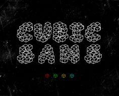 Cubic Sans - http://www.totypeaway.com/2011/12/cubic-sans-2/