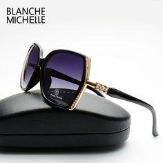 09fb533c639 2017 New Fashion High Quality Polarized Sunglasses Women Brand Designer  Gradient Lens Driving Sun Glasses Original Box