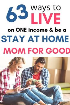 Save money tips with these 63 ideas to help you live on one income and be a stay at home mom for good. No more full time work or going out of the house to work. Stay home and save money with these save money hacks. #oneincome #savemoney #frugalliving Ways To Save Money, Money Saving Tips, Money Hacks, Money Tips, Stay At Home Mom, Work From Home Moms, Blog Love, Tight Budget, Working Moms