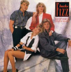 "Bucks Fizz - Keep Each Other Warm (UK 7"" Single)"