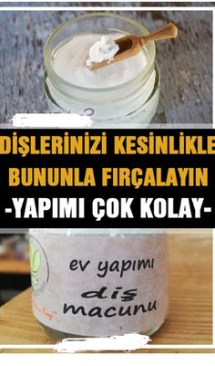 Toothpaste is very easy to make at home, both teeth are white, no harmful effects like ready-made toothpastes pasteEvdedişmac the # # # dişmacunuyapımmalz me of my dişmacunuyapı # Homemade Toothpaste, Natural Toothpaste, Banana Split, Homemade Soap Bars, Ayurvedic Recipes, Teeth Care, Bath And Bodyworks, Natural Health Remedies, Oral Hygiene