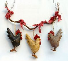 Inspiration...Home decor-easter decoration-chicken hanger-2pcs/lot..Total Price:      US $39.87