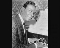 """Nat King Cole entered the R&B hit-list with one of his best-loved recordings, """"Mona Lisa,"""" reaching for four weeks and topping the pop charts for eight. Love Nat King Cole, Easy Listening Music, Pop Charts, Say Im Sorry, All We Know, Boogie Woogie, Peace On Earth, Popular Music, Motown"""
