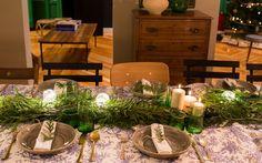 Banquete de Navidad en casa de Susana Ordovás