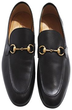 Get the must-have formal shoes of this season! These Gucci Black Horsebit Joordan Leather Loafer Gold Formal Shoes Size US 10 Regular (M, B) are a top 10 member favorite on Tradesy. Gucci Horsebit Loafers, Formal Shoes, Vintage Gucci, Gucci Black, Leather Loafers, Dust Bag, Zero, Dress Shoes, Retail