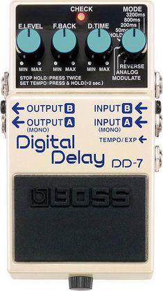Boss - Digital Delay - Boss - Digital Delay
