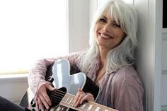 12-time Grammy Award-winner Emmylou Harris  Emmylou YOU are my standard for having grey hair! You are so beautiful and you rescue dogs!!! Love you!