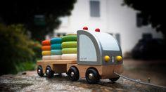 Janod - J05596 - Multi Colors Truck