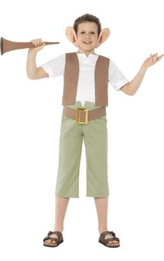 Shop for Official Roald Dahl BFG Character Costume at Totally Fancy. This Big Friendly Giant Children's costume is great for Roald Dahl Day and World Book Day. Many More Roald Dahl & World Book Day Costumes available. World Book Day Costumes, Book Character Costumes, Book Week Costume, Childrens Fancy Dress, Fancy Dress For Kids, Kids Dress Up, Bfg Costume, Boy Roald Dahl, Roald Dahl Characters