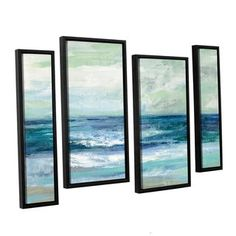 Shop for ArtWall Silvia Vassileva's Tide, 4 Piece Floater Framed Canvas Staggered Set. Get free delivery at Overstock.com - Your Online Art Gallery Store! Get 5% in rewards with Club O!