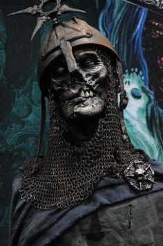 Viking Art, Viking Warrior, Arte Horror, Horror Art, Viking Tattoo Sleeve, Character Art, Character Design, Skull Reference, Totenkopf Tattoos