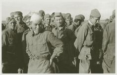 Soviets during the WW II.I think two of them're Kazakhs