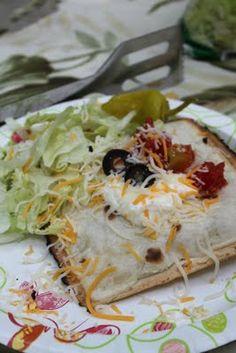 Pie iron tasty tacos!