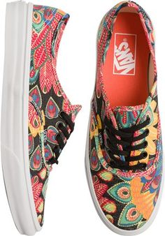 Printed vans. http://www.swell.com/New-Arrivals-Womens/VANS-AUTHENTIC-SLIM-SHOE-8?cs=MU