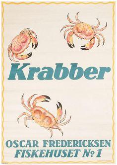 LUND, Aage (1892-1972). Krabber. – Sotherans