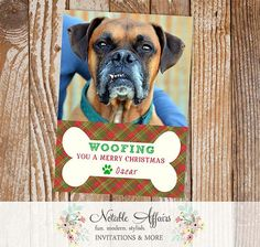 woofing you a merry christmas pet holiday christmas card merry christmas dog christmas quotes