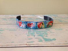 Princess Ariel NO SLIP headband by Cherrieontop on Etsy, $6.00