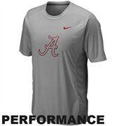 Nike Alabama Crimson Tide Speed Fly Performance T-Shirt - Gray