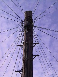 Stockport Telephone Pole