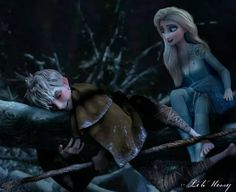 Elsa Y Jack Frost, Jake Frost, Disney Ships, Disney Art, Sailor Princess, Disney Princess, Elsa Frozen, Disney Frozen, Rise Of The Guardians