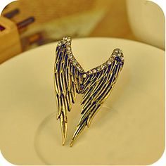 Retro dimensional angel wings diamond ring, all kinds of cheap fashion rings ,shop at http://Costwe.com/fashion-cheap-rings-c-47_43.html