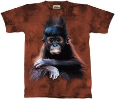 Orangutan Baby T-Shirt at theBIGzoo.com, a family-owned toy store.
