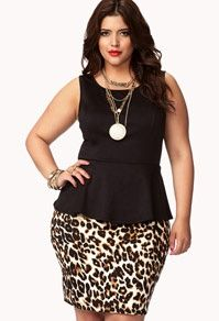 Womens Plus Size Clothing at Forever 21+ Not the Average Catwalk | Big Fashion Show plus size clothing