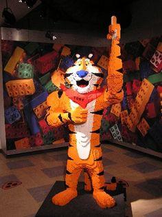 Lego Tony the Tiger is grrr-r-r-r-r-eat!