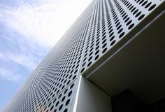 Perforated Metal Cladding.