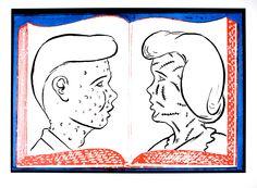 Mark Mothersbaugh's La Psicologia Del Deseo on Poster Child Prints
