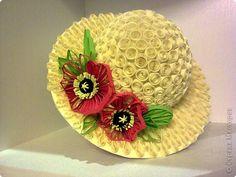 Sombreros de clase Maestro Papel Quilling foto 8