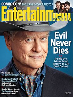 This Week's Cover: Larry Hagman and Patrick Duffy on the success of 'Dallas' Dallas Tnt, Dallas Tv Show, Burgundy Suit, Ron Burgundy, Caroline Forbes, Vampire Diaries Enzo, Patrick Duffy, Larry Hagman, I Dream Of Jeannie