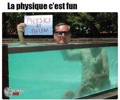 La physique c'est fun ! - Be-troll - vidéos humour, actualité insolite