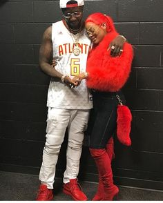 We're celebrating Love at KA'OIR COSMETICS and KA'OIR FITNESS!  Gucci Mane proposed to Keyshia Ka'oir at the Atlanta Hawks game last night!!... and she said Yes!!!