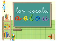 52 fichas de Las vocales: Fichas y material interactivo