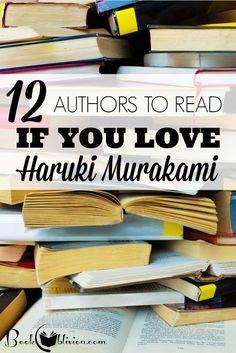 Authors like Haruki Murakami and Italo Calvino have redefined contemporary fiction to teach readers everywhere the overwhelming power of language. Book Club Books, Book Lists, Good Books, Books To Read, My Books, Haruki Murakami Books, Happy Reading, Reading Lists, Book Writer