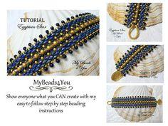 Beading Pattern and TutorialBeadwork Bracelet