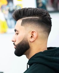 Mens Hairstyles With Beard, Cool Hairstyles For Men, Cool Haircuts, Haircuts For Men, Men's Haircuts, Haircut Styles For Boys, Men's Hairstyles, Beard Styles For Men, Hair And Beard Styles