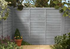 Dusky Gem for the fence.   Cuprinol Garden Colour Selector