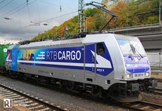 [EU] A new design for RTB Cargo - this is the 186 297 'Aachen'
