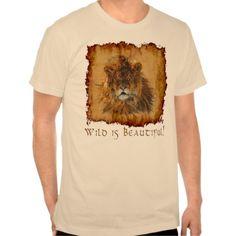 African Lion Beautiful Big Cat Wildlife Shirt