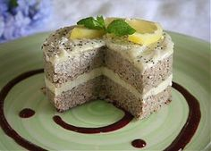 The Sunny Raw Kitchen: Recipe of the Year: Lemon Poppy Seed Cake