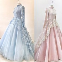 Modest Formal Occasion Dress with Long Sleeves – Hijab Fashion 2020 Muslimah Wedding Dress, Muslim Wedding Dresses, Muslim Dress, Bridesmaid Dresses, Prom Dresses, Wedding Bridesmaids, Dress Wedding, Dress Muslimah, Wedding Abaya
