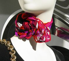 How to Tie a Neck Scarf: Sophisticated Neck Rosette